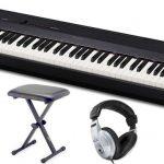 Das PX-160 hat eine voll gewichtete Tastatur mit 88 Tasten