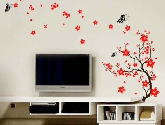 Gründe für den Einsatz von dekorativen Wandaufklebern